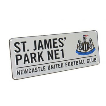 Newcastle United St James Park Street Sign